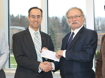Thumbnail for SRU donates proceeds from computing workshops to local meals program