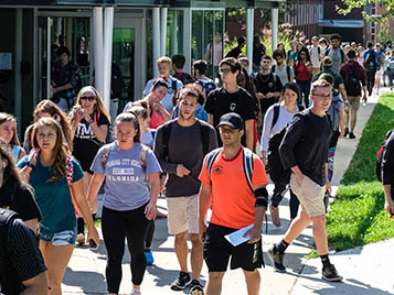 Thumbnail for SRU fall enrollment eclipses 8,800 students