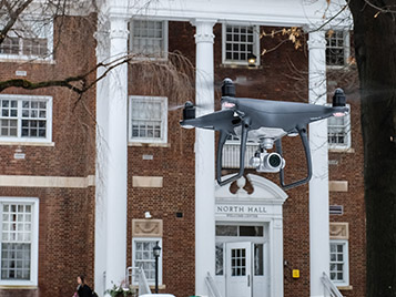Thumbnail for SRU reminds drone owners authorization is needed for on-campus flights