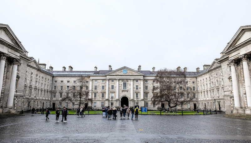 The campus of Trinity College
