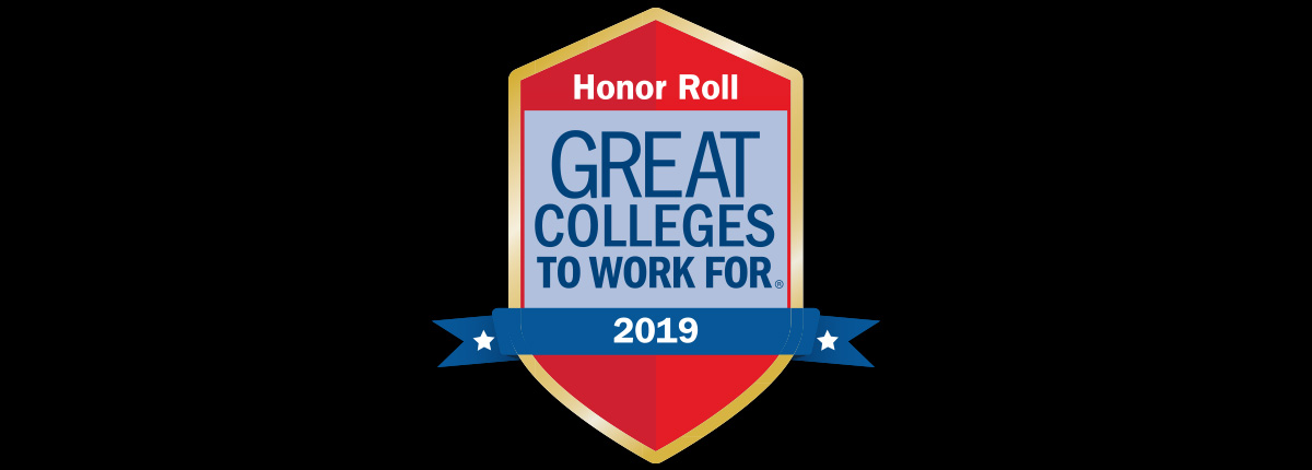 "SRU named a ""Great College to Work For;"" Earns place on national honor roll"