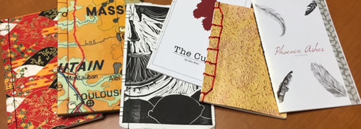 Examples of creative writing publications by SRU students