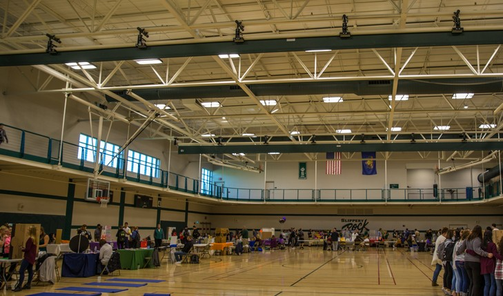 event held in ARC gym