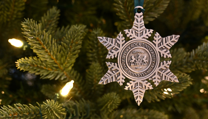 SRU Holiday ornament