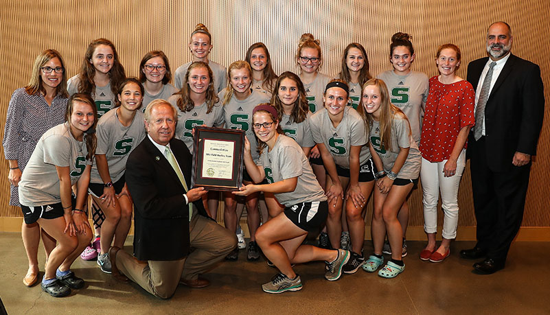 Women's Field Hockey for proclimation for highest team GPA