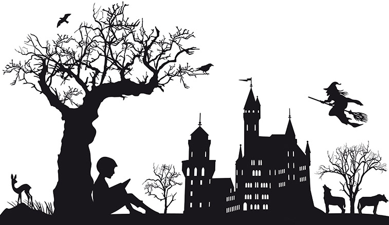 Spooky stories will be read at 6 and 7:30 on October 13th at the Old Stone House
