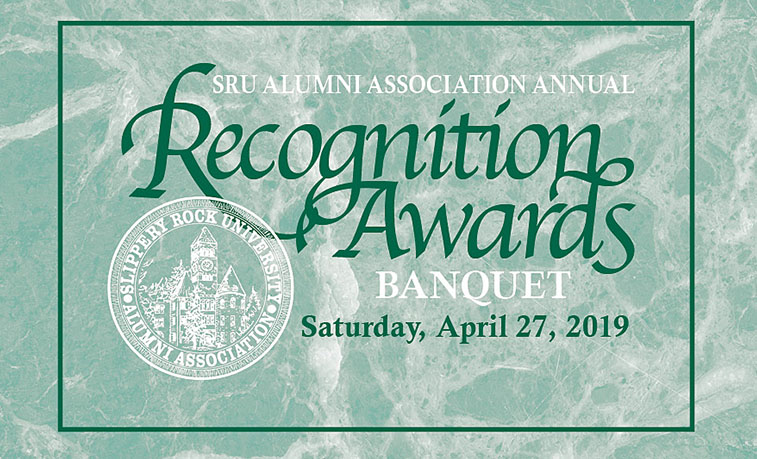 Alumni Awards Ceremony, April 27