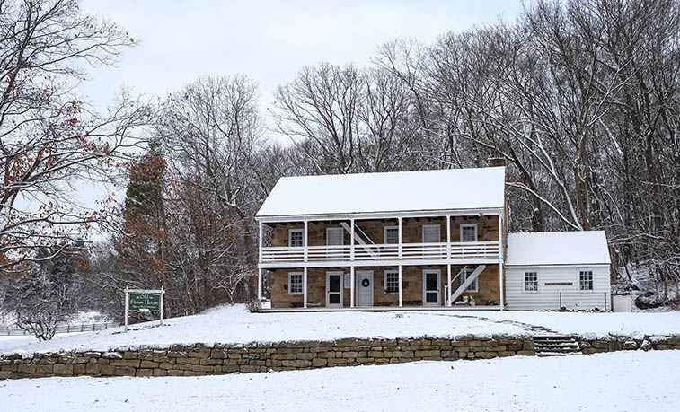 Slippery Rock University's Old Stone House's annual  Christmas Open House, is 3-7 p.m., Dec. 7.