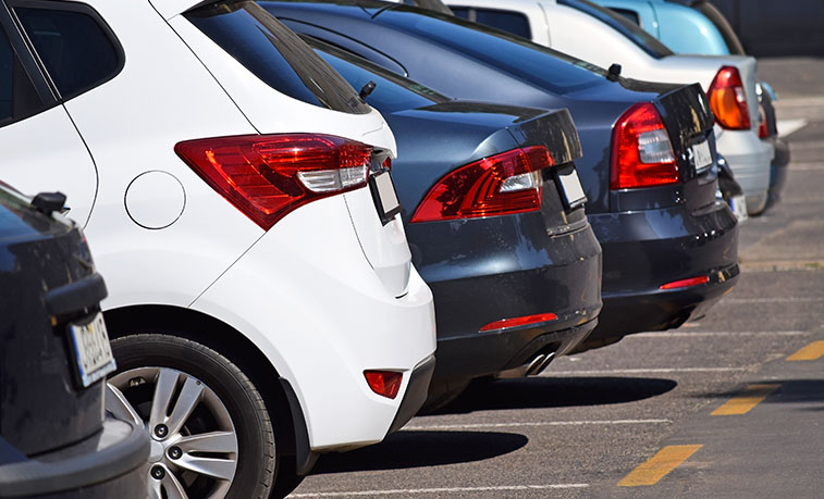 A new online registration process for parking permits at Slippery Rock University will be available beginning Jan. 6, 2020. University Police will use license plate recognition to detect registered vehicles instead of looking for windshields decals.