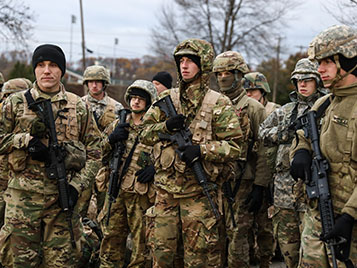 Thumbnail for SRU ROTC wins MacArthur Award; named one of top programs in the country