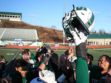 Thumbnail for SRU leads DII AP All-America selections with five