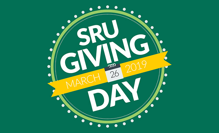 SRU's annual Giving Day is April 26