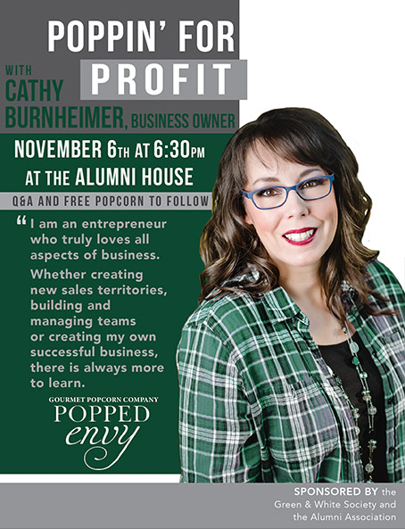Alumni speaker series continues on November 6
