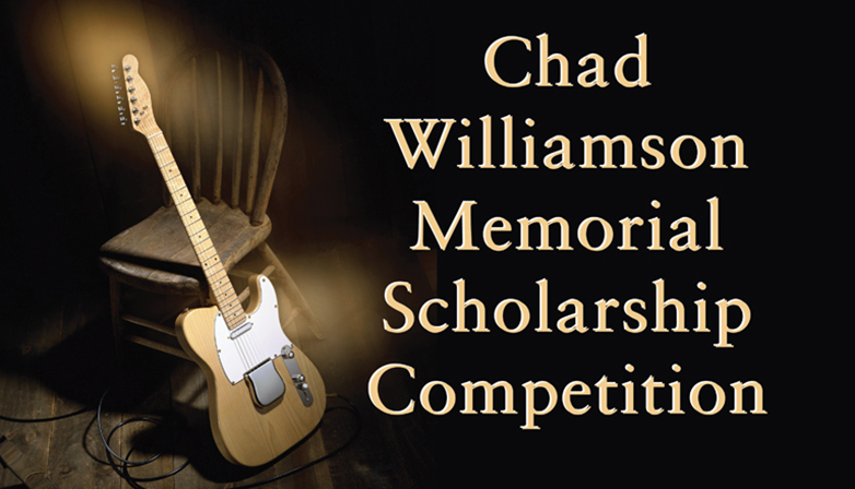 The Chad Williamson Memorial Scholarship competition in November 2