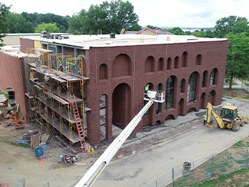 Thumbnail for SRU makes headway on summer construction projects despite pandemic-related delays