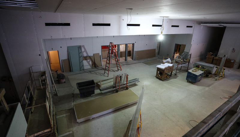 Performing arts center construction