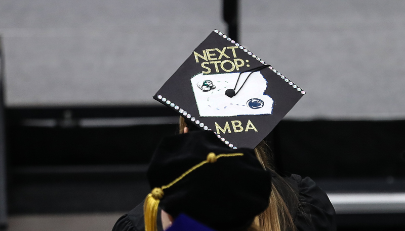 Cap that says Next Stop: MBA