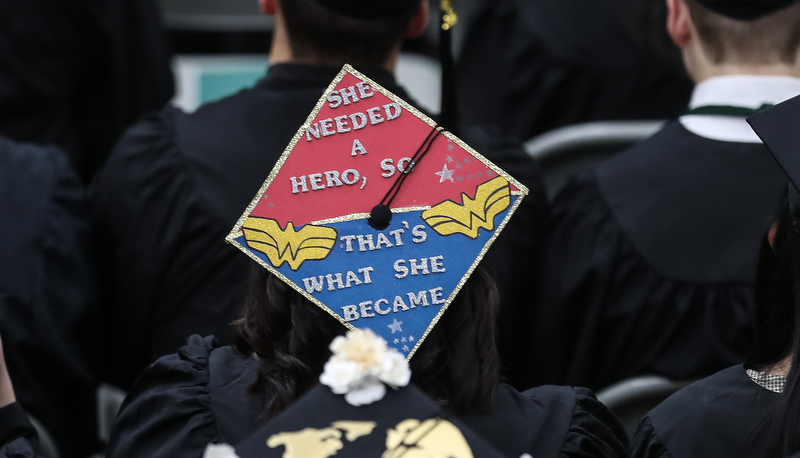 Cap that says She needed a hero, so that's what she became