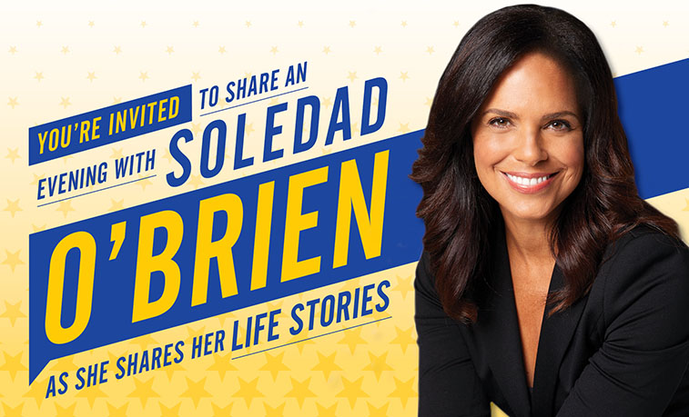 Soledad O'Brien will be giving a free lecture on Feb. 18