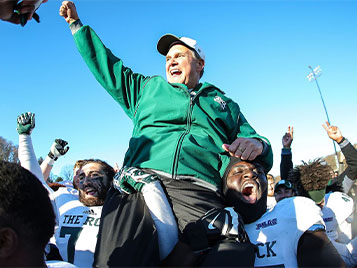 Thumbnail for Former SRU head football coach Mihalik listed on College Football Hall of Fame ballot