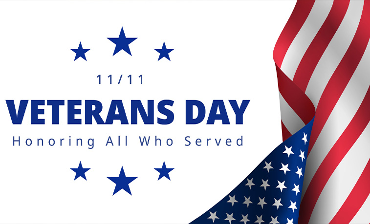 Veteran's Day graphic
