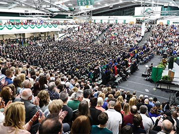 Thumbnail for SRU to celebrate its 2020 graduates with virtual commencement ceremony, Dec. 12